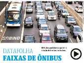 Datafolha corredores de ônibus
