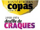 História das Copas (1958-1974)