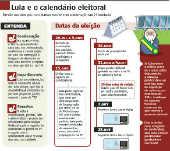 Lula e o calendário eleitoral