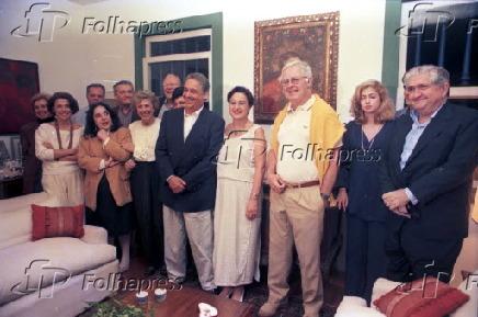 FHC e Ruth participam de jantar na casa de Fernando Gasparian
