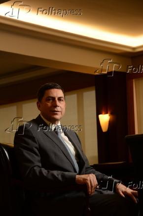 O presidente do Bradesco, Luiz Carlos Trabuco