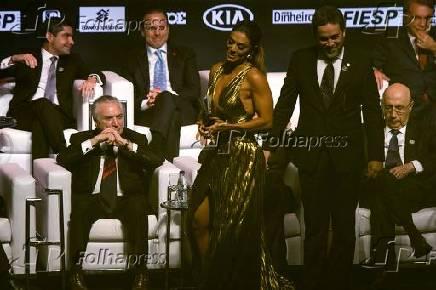 Cerimônia de premiação dos eleitos ''Brasileiros do Ano 2017''