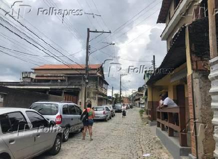 Rua onde o deputado Daniel Silveira morou na juventude, em Petrópolis (RJ)
