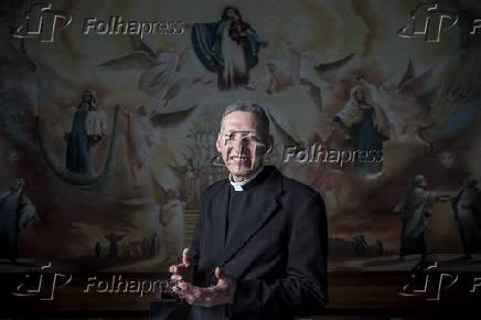 Retrato do Padre Marcelo Rossi no Santuário Mãe de Deus
