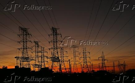 Linhas de transmissão de energia elétrica no município de Ribeirão Preto