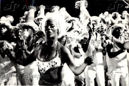 Carnaval 1977 - Desfile da Nenê de Vila Matilde em São Paulo