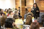 Encontro mensal do Grupo Mulheres do Brasil