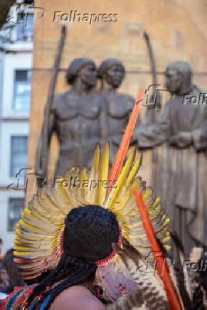 Índio participa da Jornada do Patrimônio, em SP