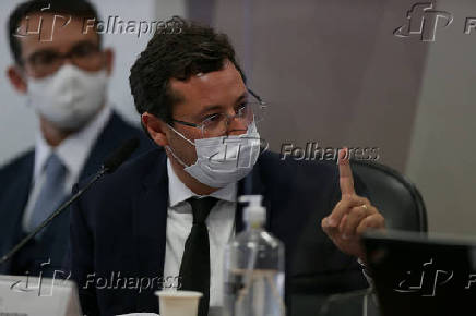 CPI da Covid no Senado ouve Fabio Wajngarten