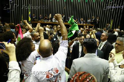 Homenagem aos 131 anos da Lei Áurea em Brasília, DF