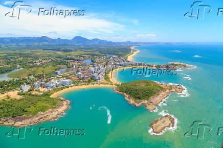Vista aérea de Guarapari - ES