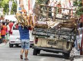 Catador de materiais recicláveis