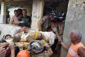 Desabamento em Camaragibe (PE) deixa pessoas feridas e um morto