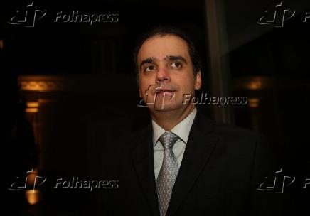 Milton Lyra na homenagem ao governador Eduardo Campos