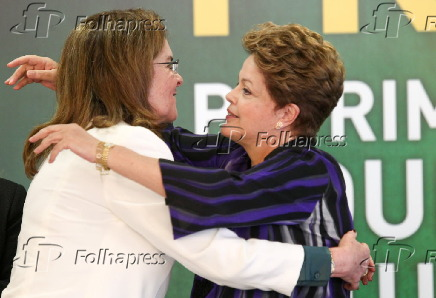 A presidente da república Dilma