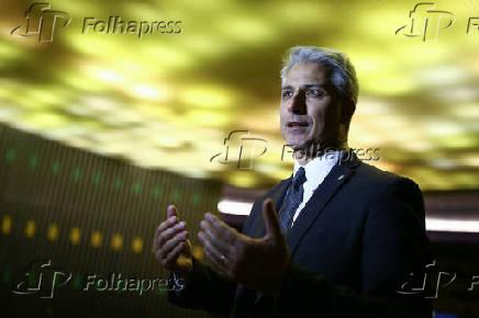 O deputado Alessandro Molon (PSB-RJ), no plenário da Câmara dos Deputados