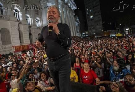 Caravana Lula em Curitiba (PR)