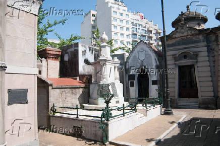 Cemitério da Recoleta em Buenos Aires, na Argentina