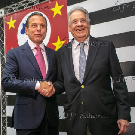 João Doria e Fernando Henrique Cardoso