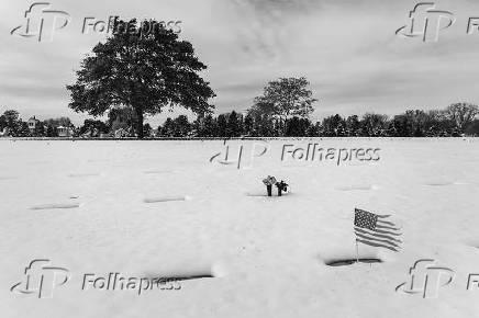 Cemitério National Woods em Milwaukee, em Wisconsin, nos Estados Unidos