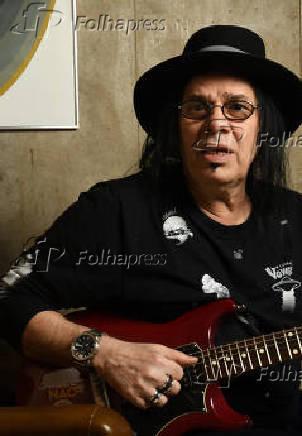 O guitarrista Pepeu Gomes