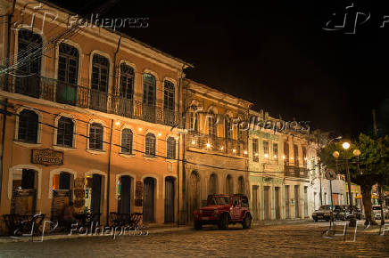 Vista de casarios no centro histórico do município de Cachoeira (BA)