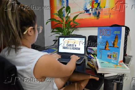 Plataforma Online Classroom Google Para Os Alunos Do Rj