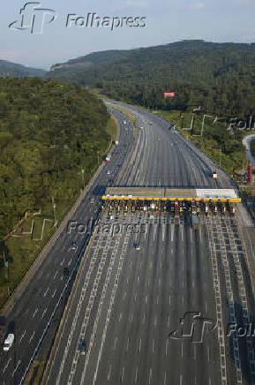 Pedágio da rodovia Bandeirantes