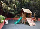 Playground infantil (Parquinho), área de lazer destinado as crianças