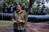 O artista chinês Ai Weiwei