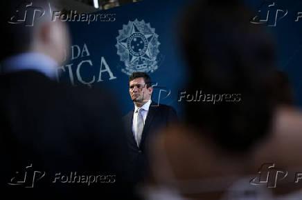 O ministro da Justiça, Sergio Moro