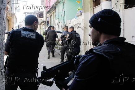 Operação policial na Cidade de Deus e na Comunidade do Karatê