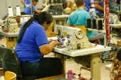 Fábrica da empresa Rone Jeans em Toritama (PE)