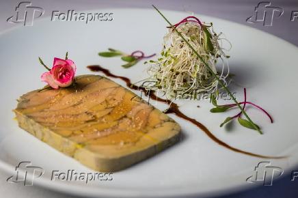 Terrine Foie Gras do restaurante La Casserole em São Paulo