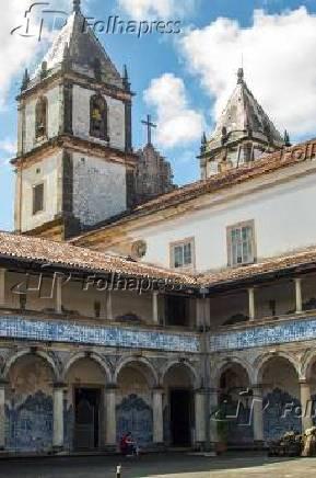 Igreja e Convento de São Francisco, em Salvador, na Bahia