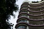 O edifício Germaine Burchard, ou Marian, na avenida Casper Líbero, em SP