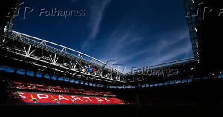 Vista geral interna da Arena Spartak