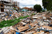 Remoção da favela do Sapo, na zona oeste de São Paulo
