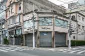 Rua São Caetano vazia devido à pandemia
