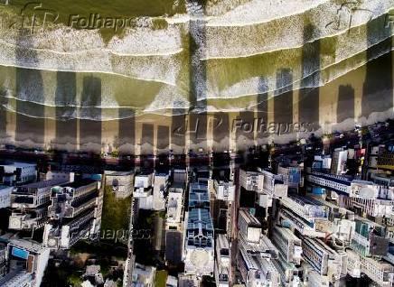 Vista aérea do Balneário Camboriú (SC)