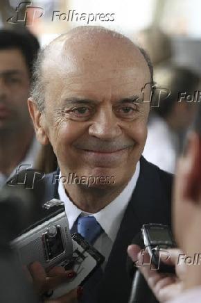 O governador de São Paulo, José