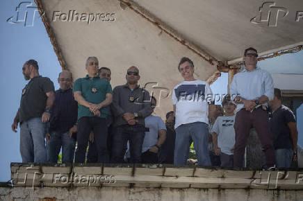 Jair Bolsonaro (PSL), assiste apresentação do grupo Esquadrilha do Céu no Rio