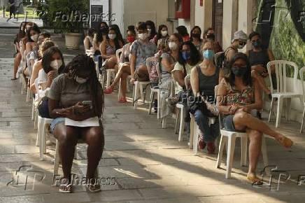 Vacinação de adolescentes contra Covid no Rio