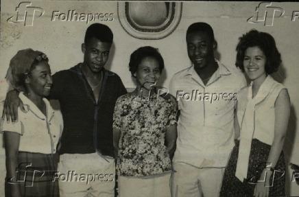 Futebol: o jogador Pelé (Edson