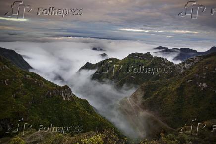 Vista da Serra do Rio do Rastro em Bom Jardim da Serra (SC)