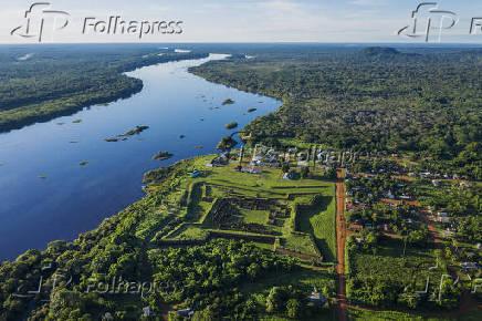 Real Forte Príncipe da Beira, edificação colonial, em Rondônia