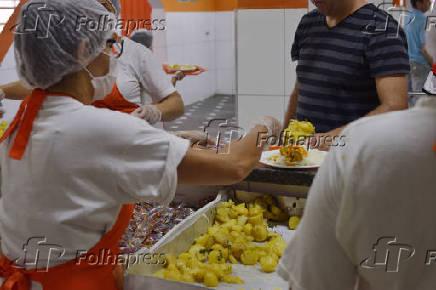 Restaurante Bom Prato, unidade Campos Elíseos, em São Paulo