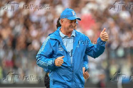 O técnico Luiz Felipe Scolari