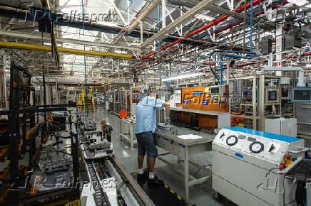 Automação na indústria automobilística