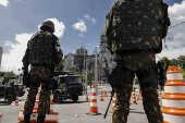 Soldados do Exército reforçam segurança em Fortaleza (CE)